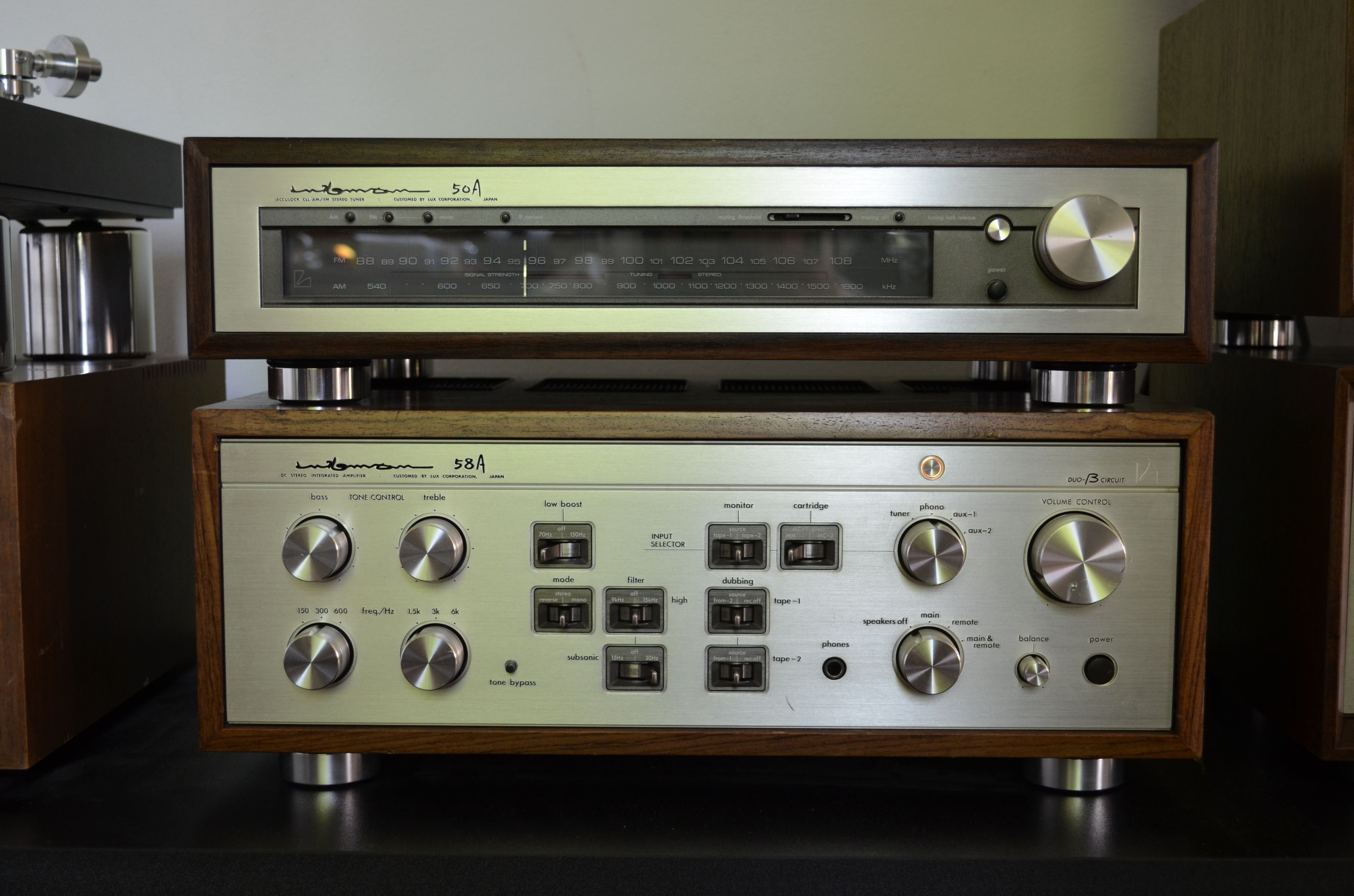 The best ever Integrated Amplifier from Luxman  Signature