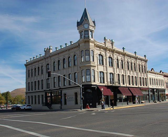 Geiser Grand Hotel In Baker City Oregon