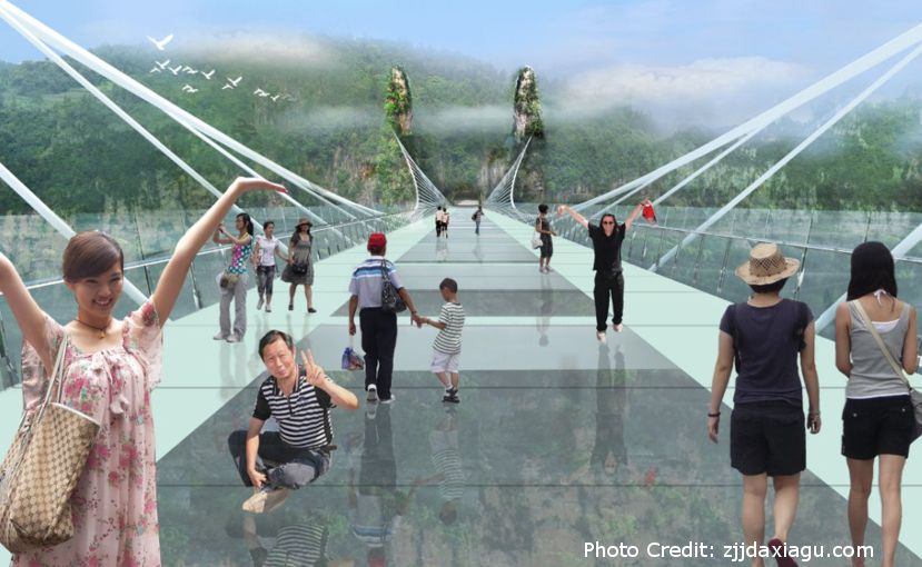 Bureau Brug This July, The World's Longest And Highest Glass-bottom