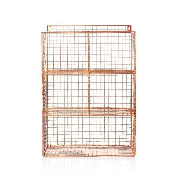 Grid Five Shelf Wall Unit | Bedroom | Oliver Bonas