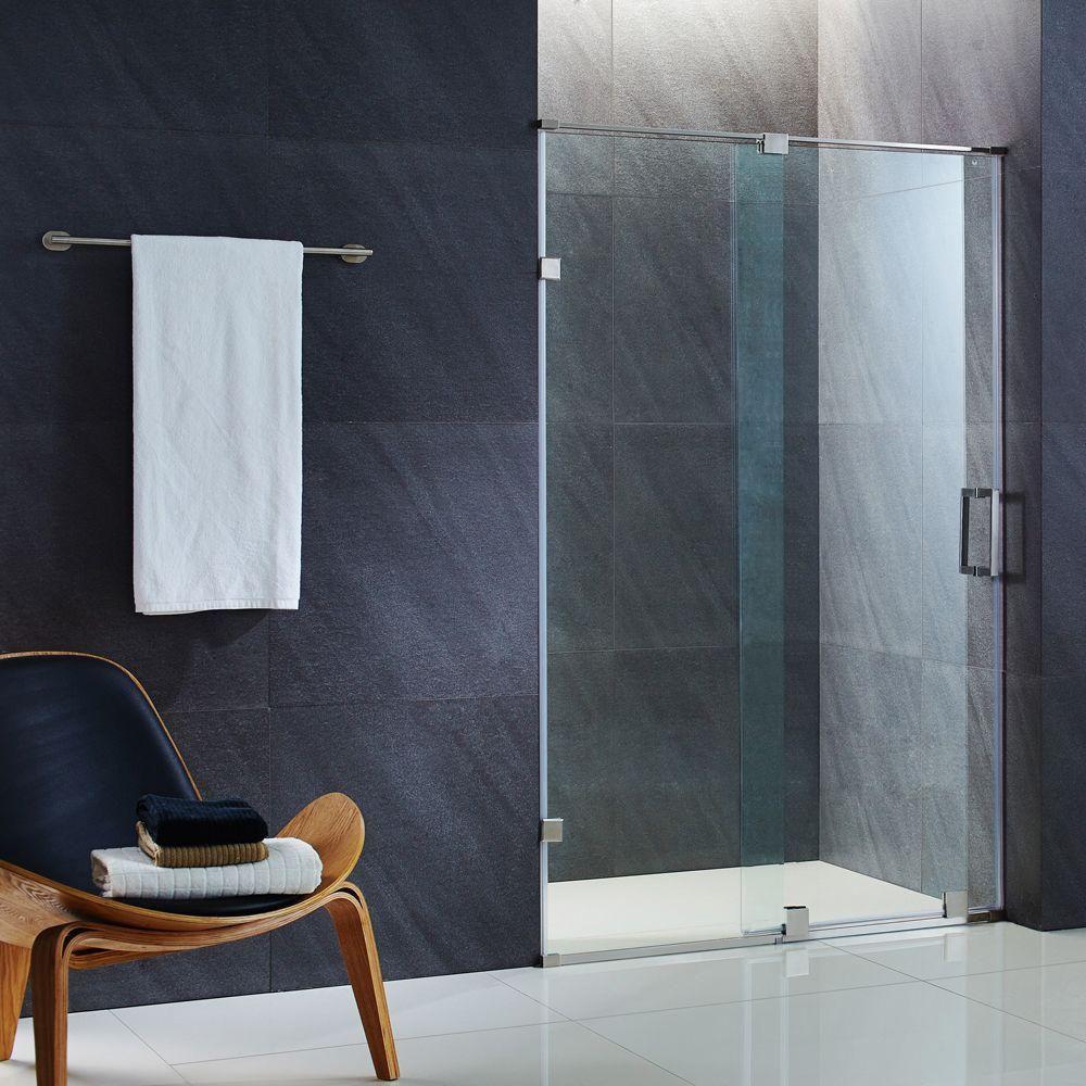Ryland 58 To 60 Inch X 72 75 Inch Frameless Sliding Shower Door In