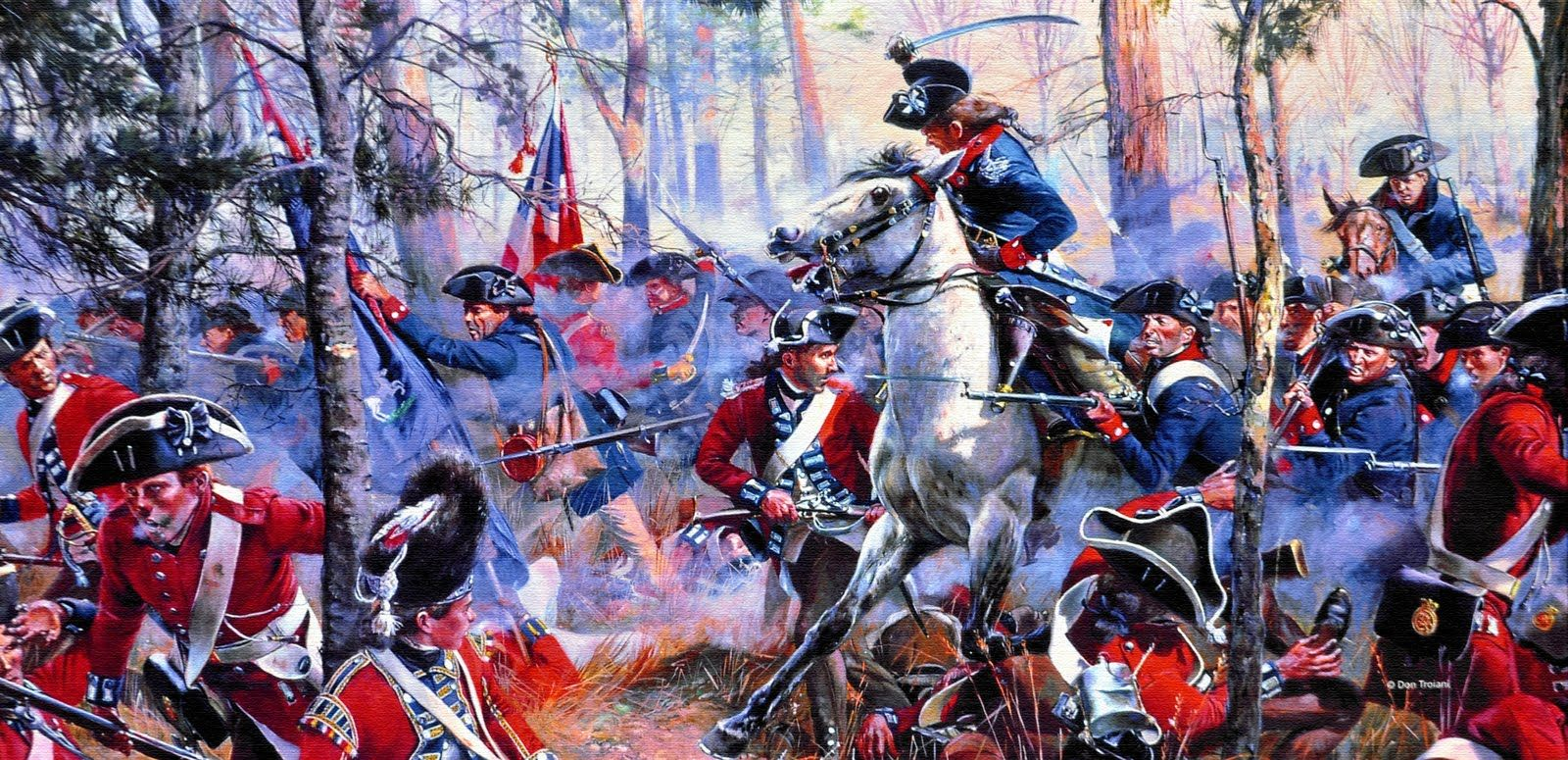 Cowpens American Military History American War Of Independence American Revolutionary War