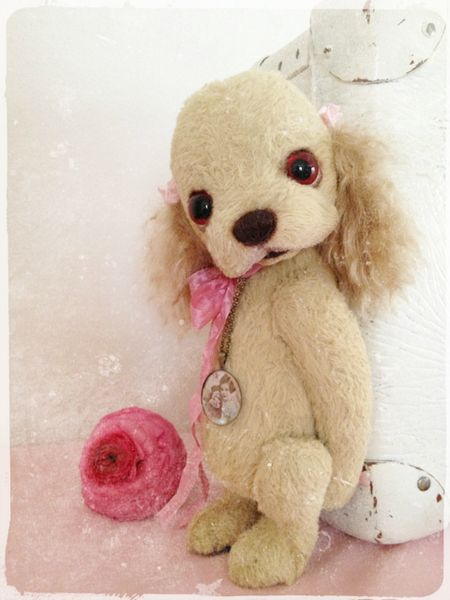 Bastelset - * Bastelpackung (Kit) * Cocker Spaniel SUSI * :) - ein Designerstück von Teddy-Manufaktur bei DaWanda