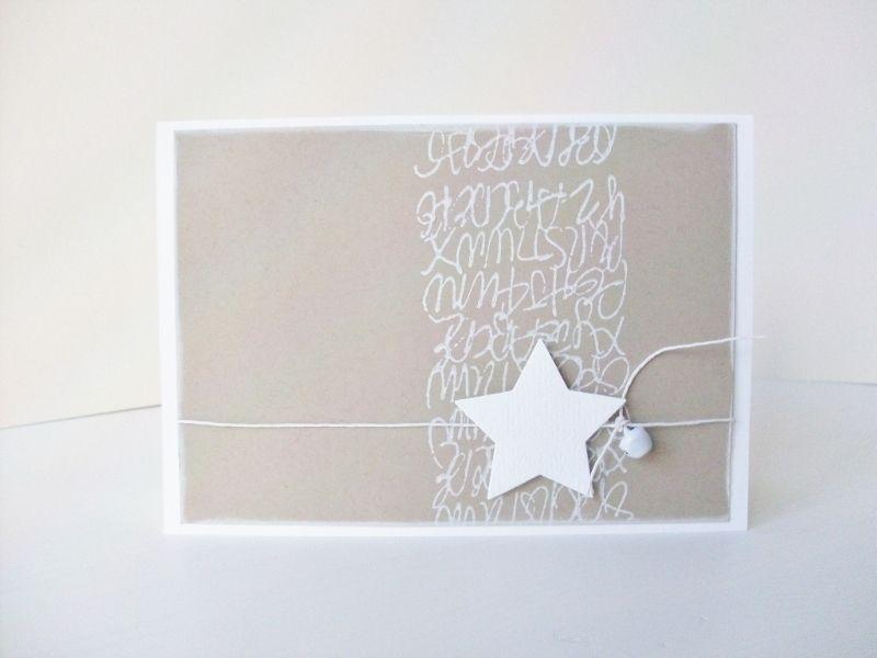 weihnachtskarten weihnachtskarte ein designerst ck. Black Bedroom Furniture Sets. Home Design Ideas