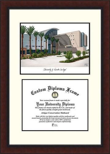 UNLV Running Rebels Diploma Frame Lithograph Legacy Series | Diploma ...