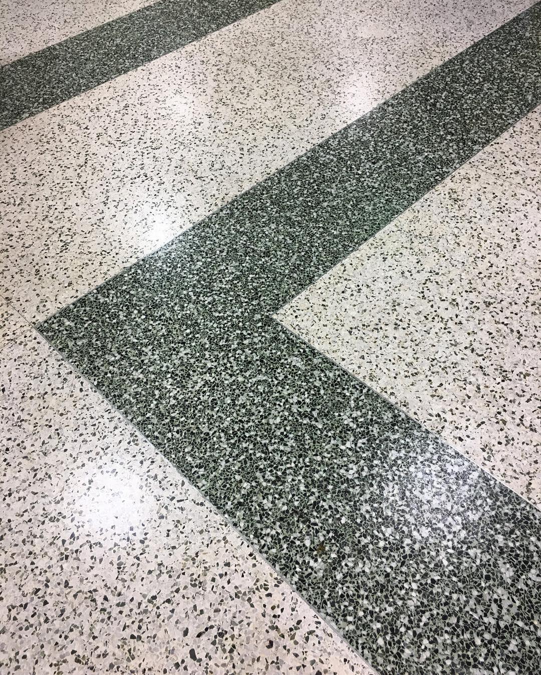 Green And White Terrazzo Stripes Publix Flooring