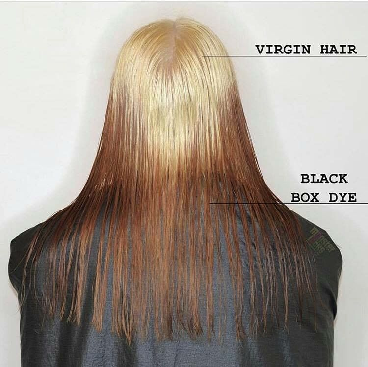 Bleaching Box Dye Removing Black Hair Dye Color Correction Hair Black Hair Dye