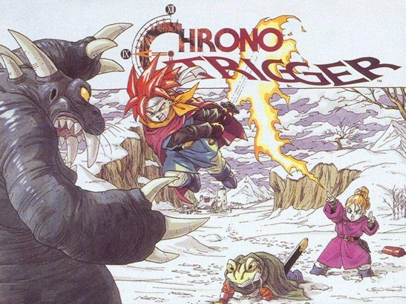 Chrono Trigger Akira Toriyama Chrono trigger, Super