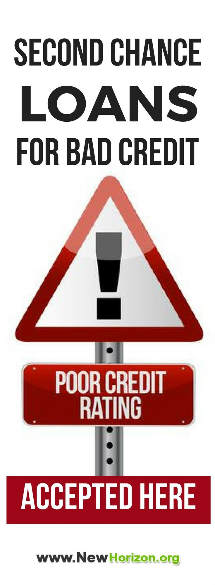 Second Chance Loans For Bad Credit Loans For Bad Credit Bad Credit Personal Loans