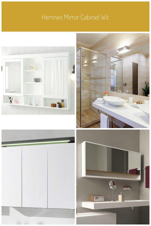 Hemnes Mirror Cabinet With 2 Doors White Ikea Badezimmer Spiegelschrank Spiegelschrank Ikea