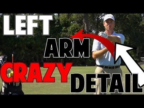 Perfect Golf Impact | The Left Arm In Crazy Detail - YouTube