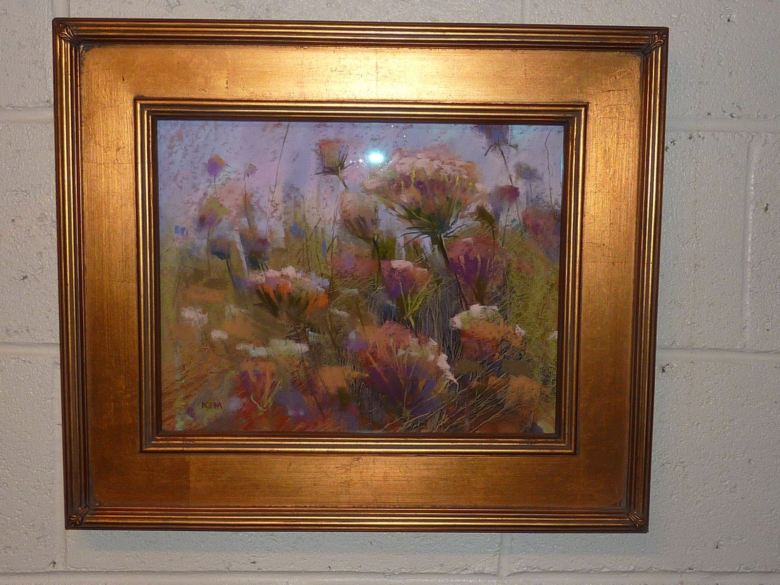 More and more artists are now framing pastels without mats. I prefer ...