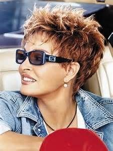 messy spiky hairstyles for women over 50   short spiky