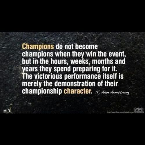 Basketball Championship Quotes: Championship Character.