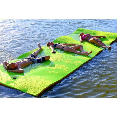 Rubber Dockie 18ft X 6ft Floating Water Mat Pad Floating Mat Floating In Water Lake Floats