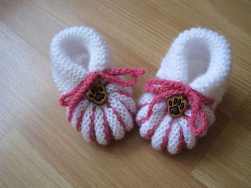 blij dat ik brei: babyschoentjes gratis patronen   tricot
