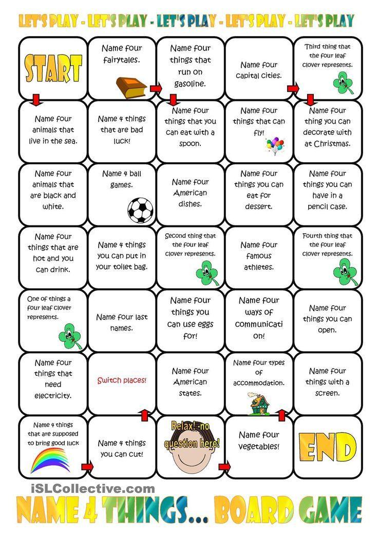 Image Result For Daily Routines For Kids Game Board Material Escolar En  Ingles, Juegos En Ingles, Vocabulario En Ingles