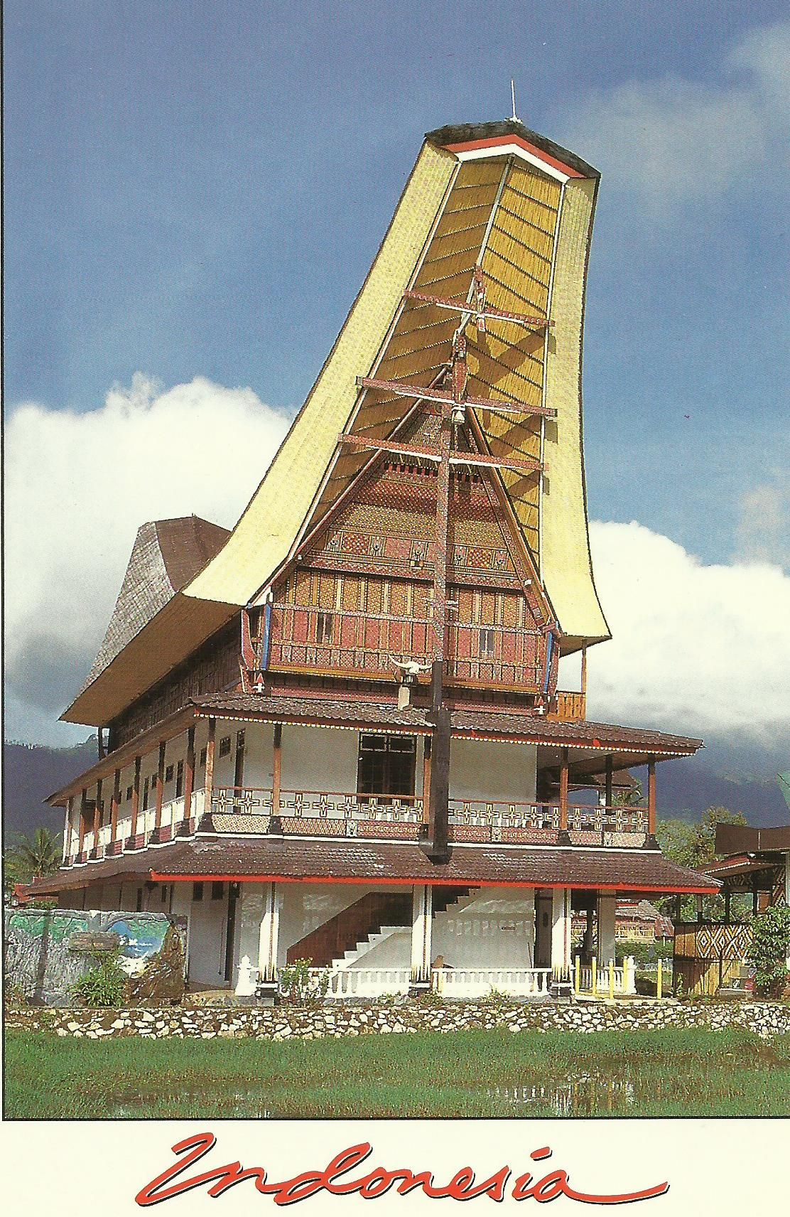 indonesia: a hotel in toraja retains the traditional design of