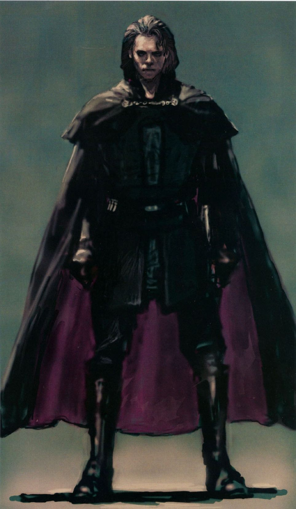 Keblava Concept Art Of Anakin Skywalker In Episode Iii Revenge Of The Sith We Wanted T Star Wars Images Star Wars Characters Pictures Star Wars Concept Art