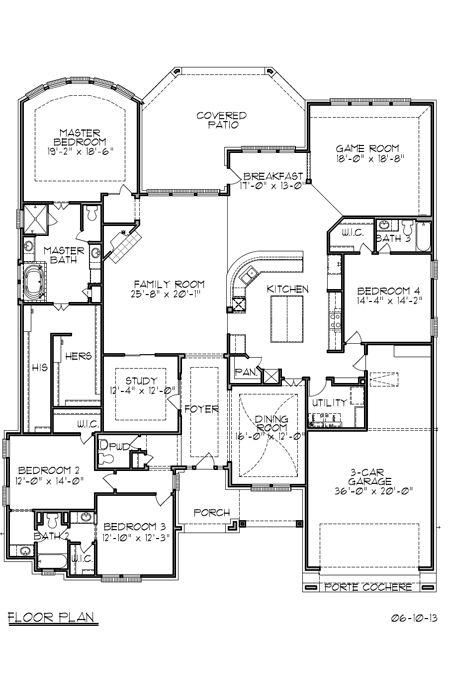 Trendmaker Homes New Homes Listing In Houston Tx Floor Plans House Floor Plans House Plans