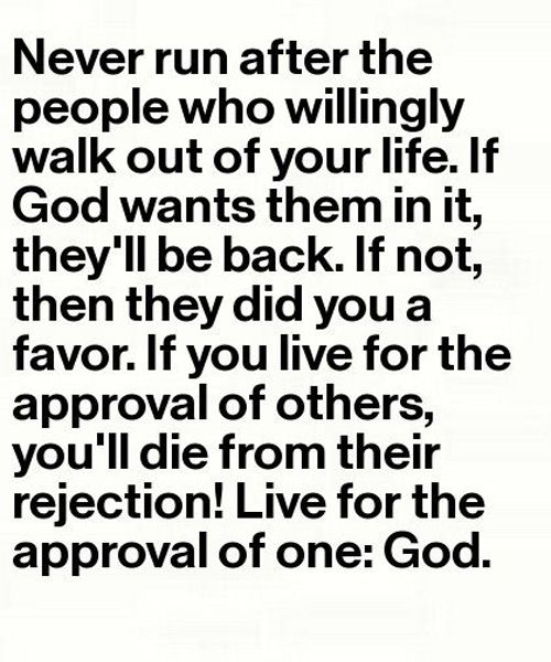 They Will Be Back – Great Life Quote