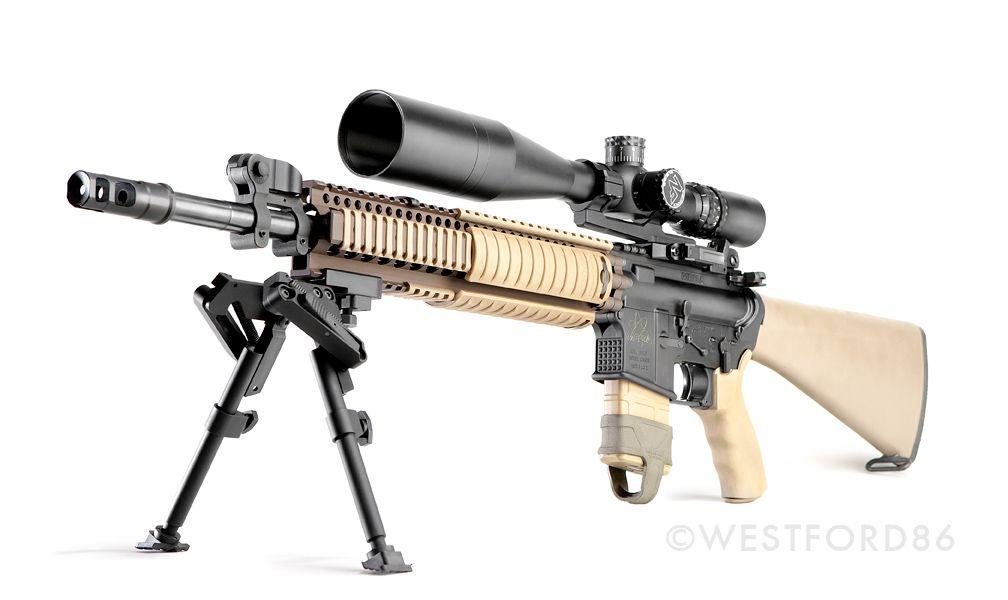 Custom Mk12 SPR inspired AR-15 with a Nightforce NSX scope ...