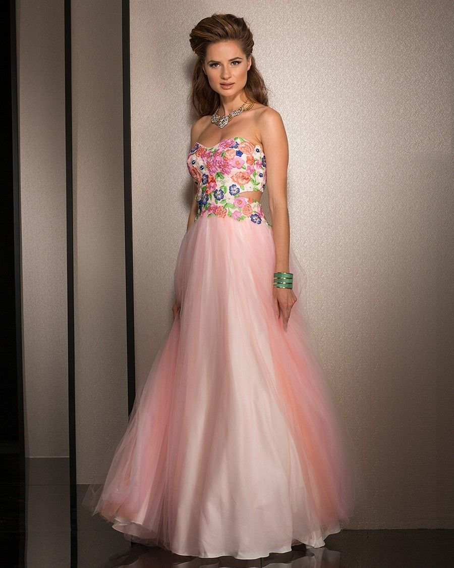 floral prom dresses - Google Search | Prom Dresses | Pinterest ...