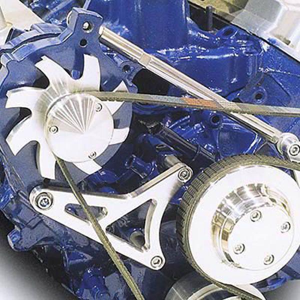 March 30025 09 Alternator Bracket Kit Aluminum Ford Small Block 302 5 0l Alternator Kit Bracket