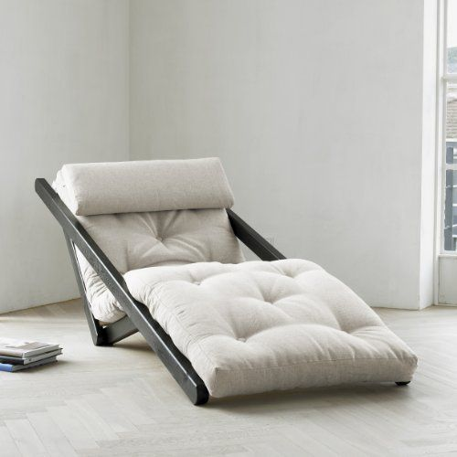 fresh futon figo convertible futon chairbed mocha frame natural mattress - Lit Futon Convertible