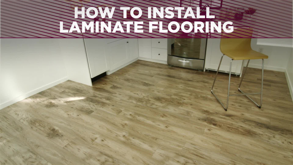 How to Install Laminate Flooring in 2020 Installing