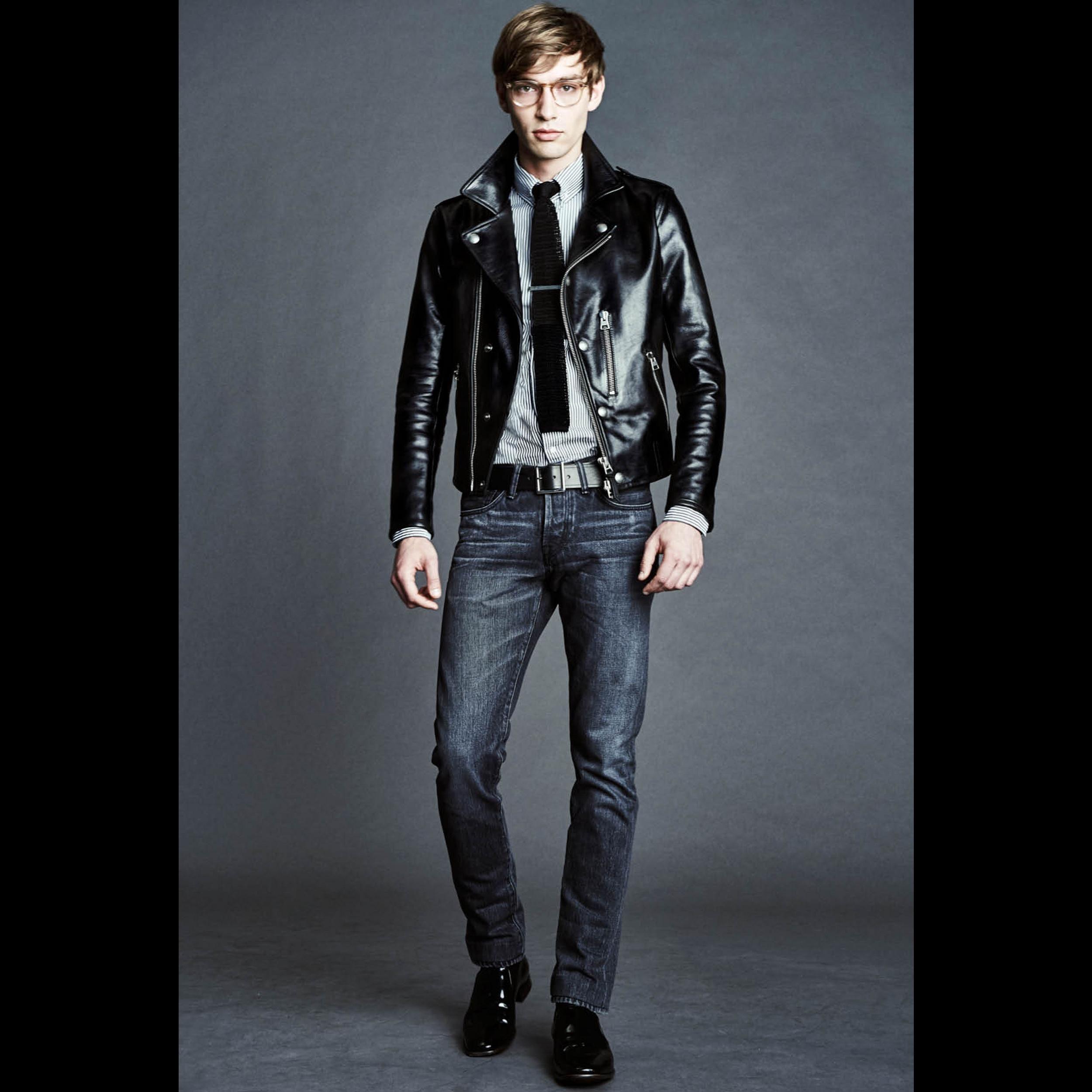 Mens Spring Summer 2016 Tom Ford Online Store Brown Leather Jacket Men Leather Jacket Men Vintage Leather Jacket [ 2500 x 2500 Pixel ]