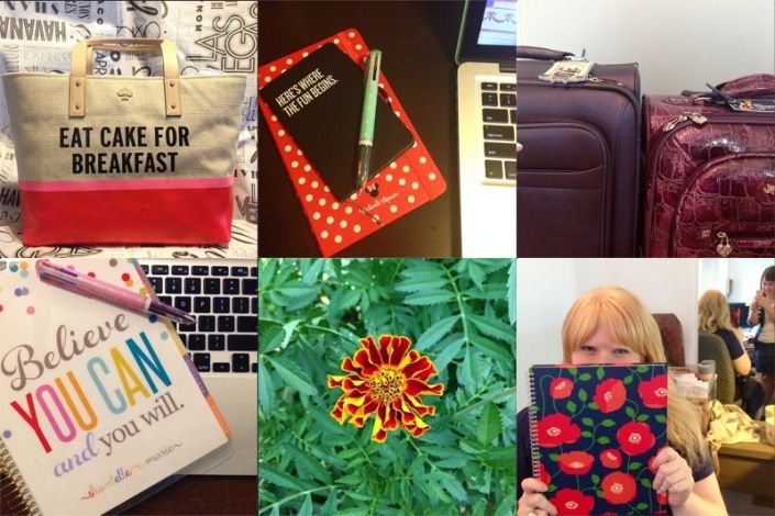 My Life in Squares for July is on the blog - and I started #100HappyDays!