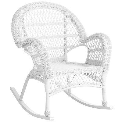 Santa Barbara Rocker White Wicker Rocker White Wicker Rocking Chairs White Rocking Chairs