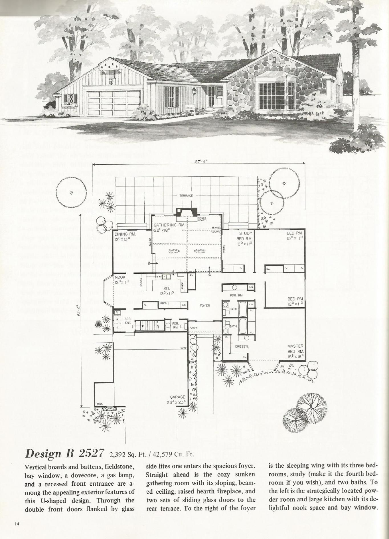1bb0ff4b7cd747bfeac3cb4f7f8856ce U Shaped House Plans Mid Century Modern Ranch on cape cod ranch house plans, mid century ranch doors, mid century ranch exteriors, vintage ranch house plans, mid century atomic ranch, mid century ranch homes,