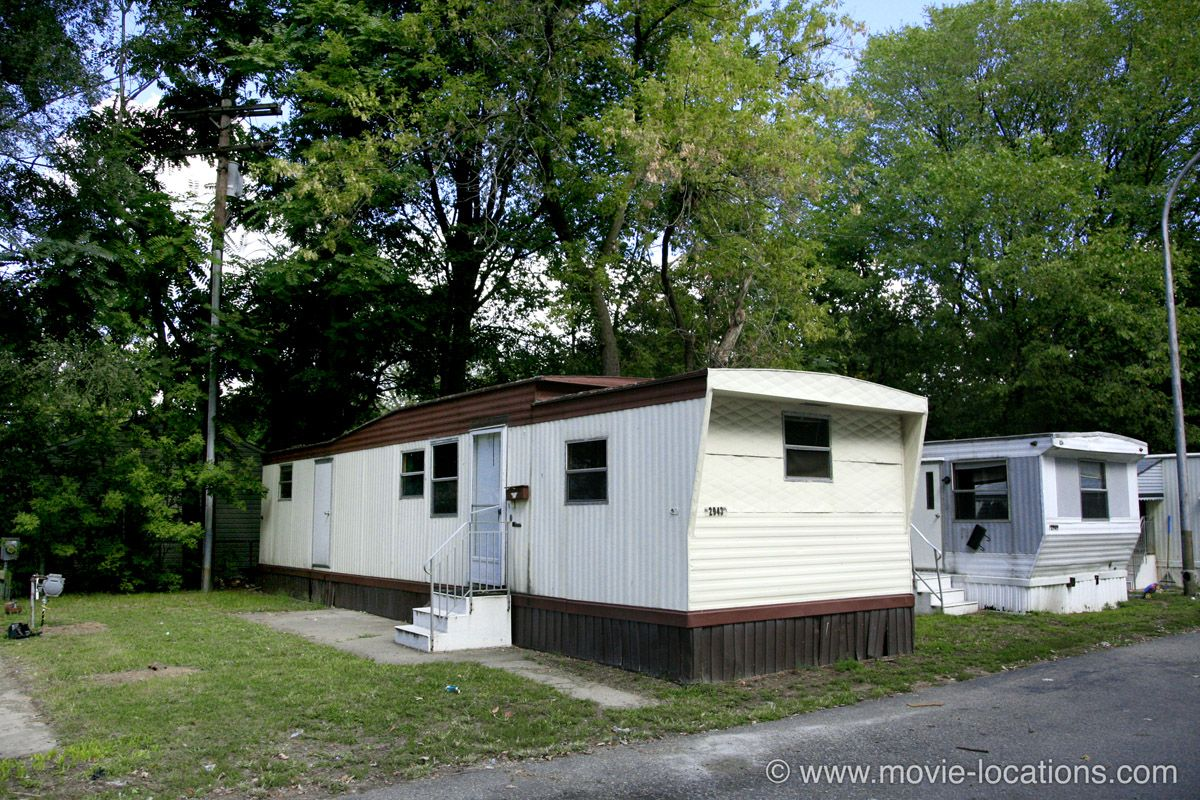 Movie Starring Rapper Eminem Mile AL Mobile Home Park Schultes Avenue Warren Used As Court The Trailer Where Rabbit Is