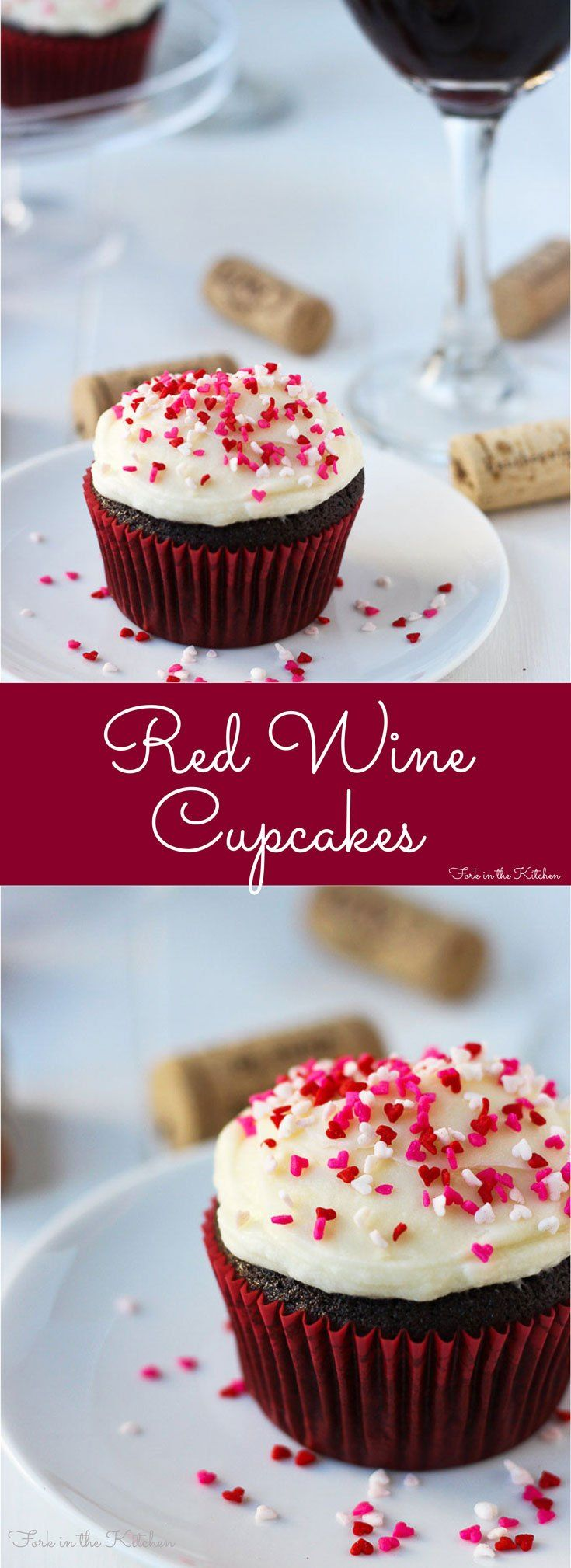 Red Wine Cupcakes There S Nothing Better Than Chocolate And Wine Red Wine Cupcake Wine Cupcakes Red Wine Recipe
