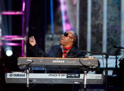 Stevie Wonder Dick Clark Tribute at 2012 American Music Awards