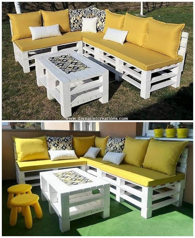 Tempting DIY Ideas with Recycled Wooden Pallets