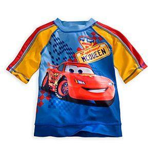 Disney Lightning McQueen Rash Guard for Boys