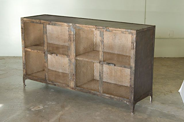 Metal Sideboard