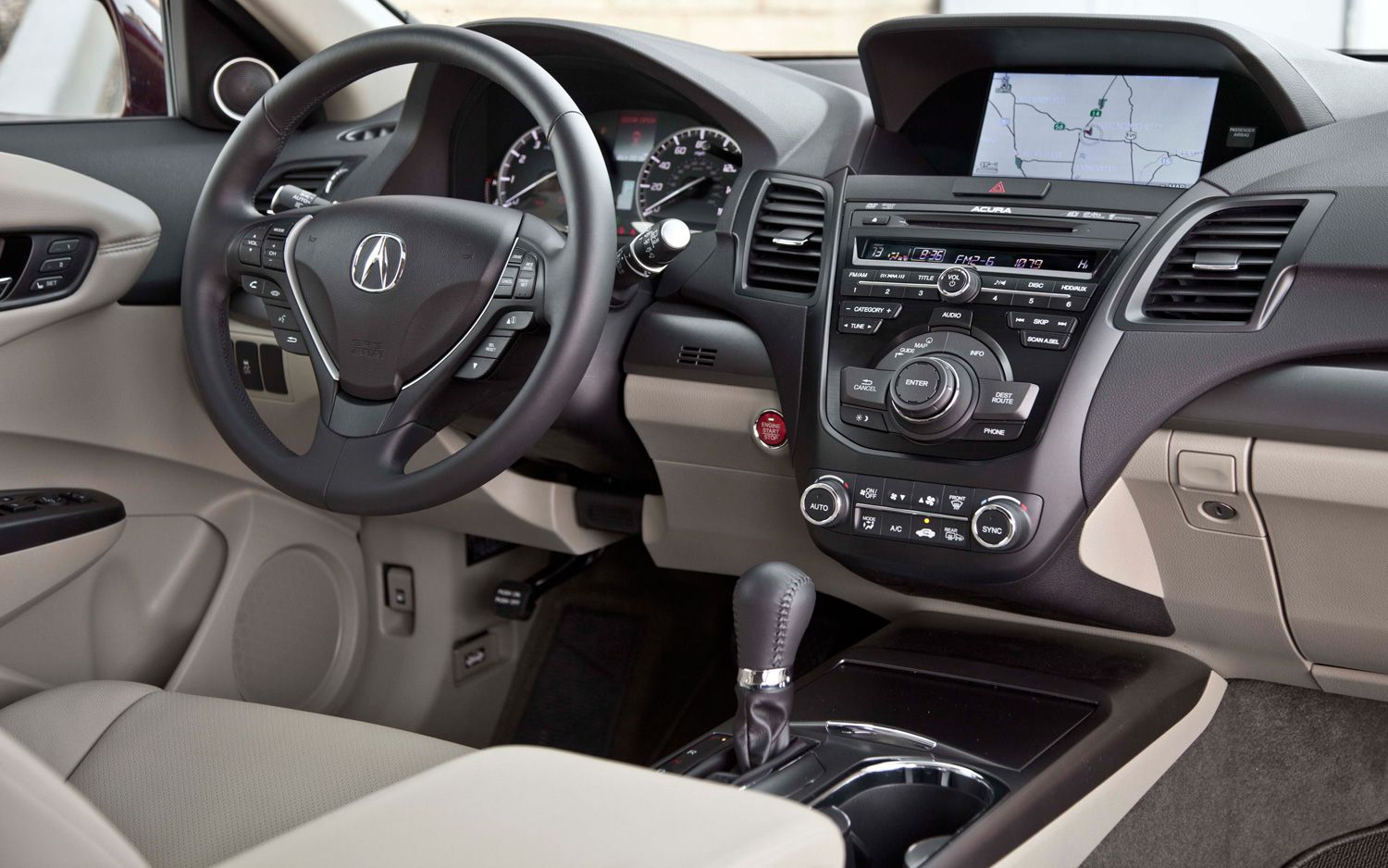 Delightful 2014 Acura Rdx Interior Hd Wallpaper