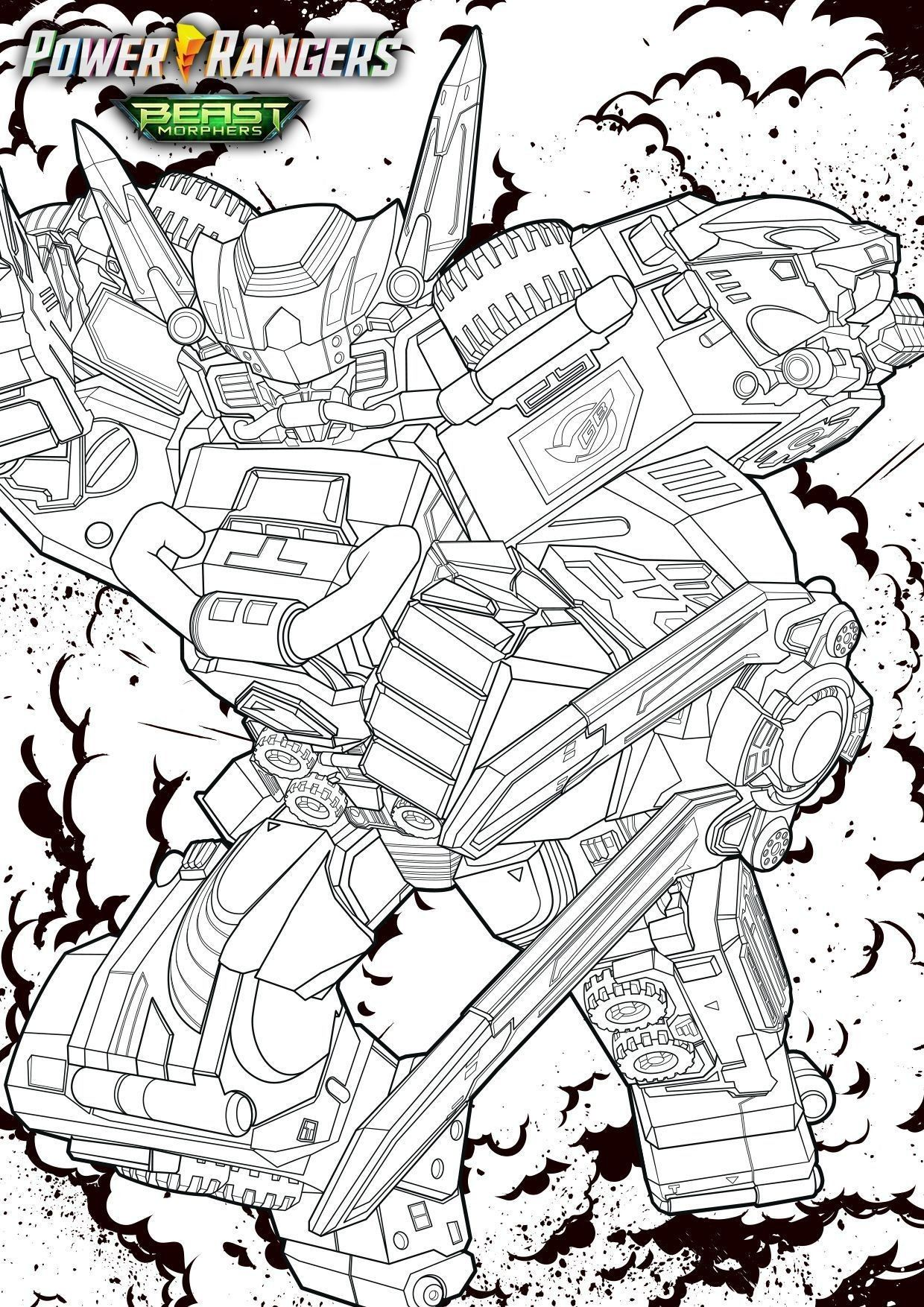 Coloriages Power Rangers Beast Morphers A Imprimer Power Rangers Beast Morphers Coloriage Power Rangers Power Rangers Coloriage