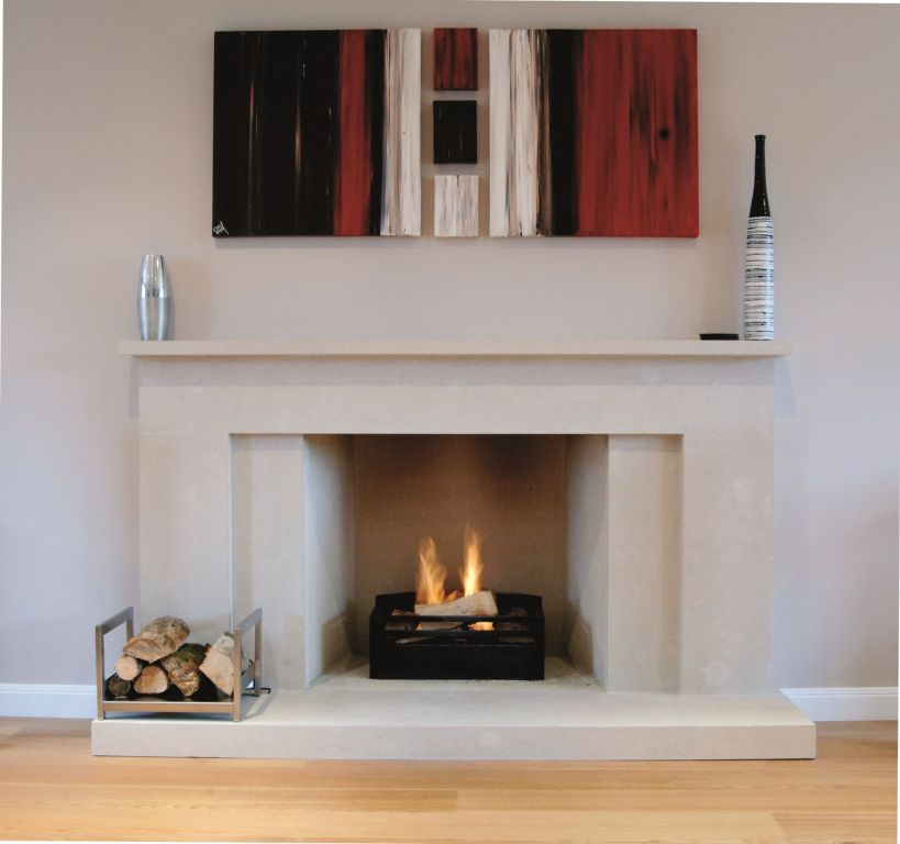 Contemporary Fireplace Surrounds Reflect Your Dream : Contemporary  Fireplace Surrounds Designs.