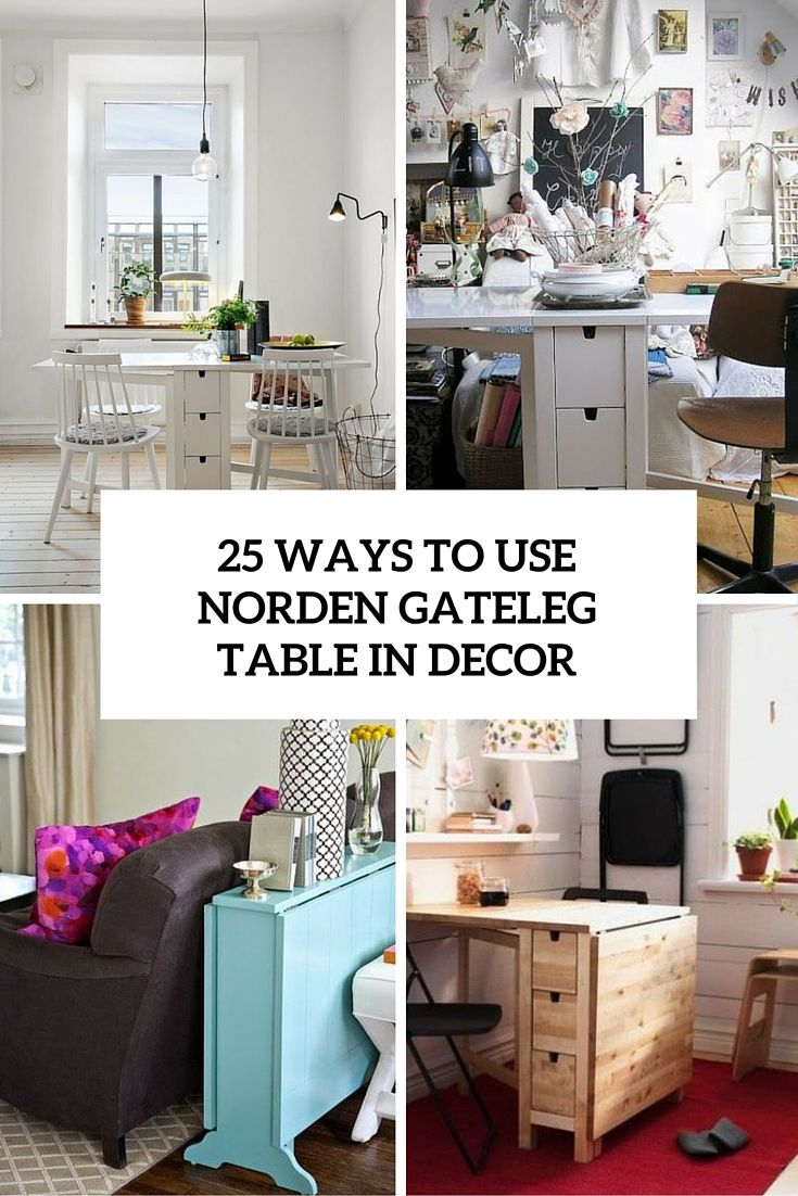Captivating Norden Gateleg Table By IKEA Is A Table With Drop Leaves Seats Weu0027ve  Gathered A Bunch Of Ideas To Use It In Your Home Decor.
