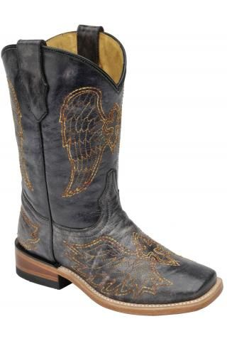 68f9504ef67 Western Style Clothing · Corral+Boots+KD+BLACK+MULTI+COLOR+WING+CROSS+