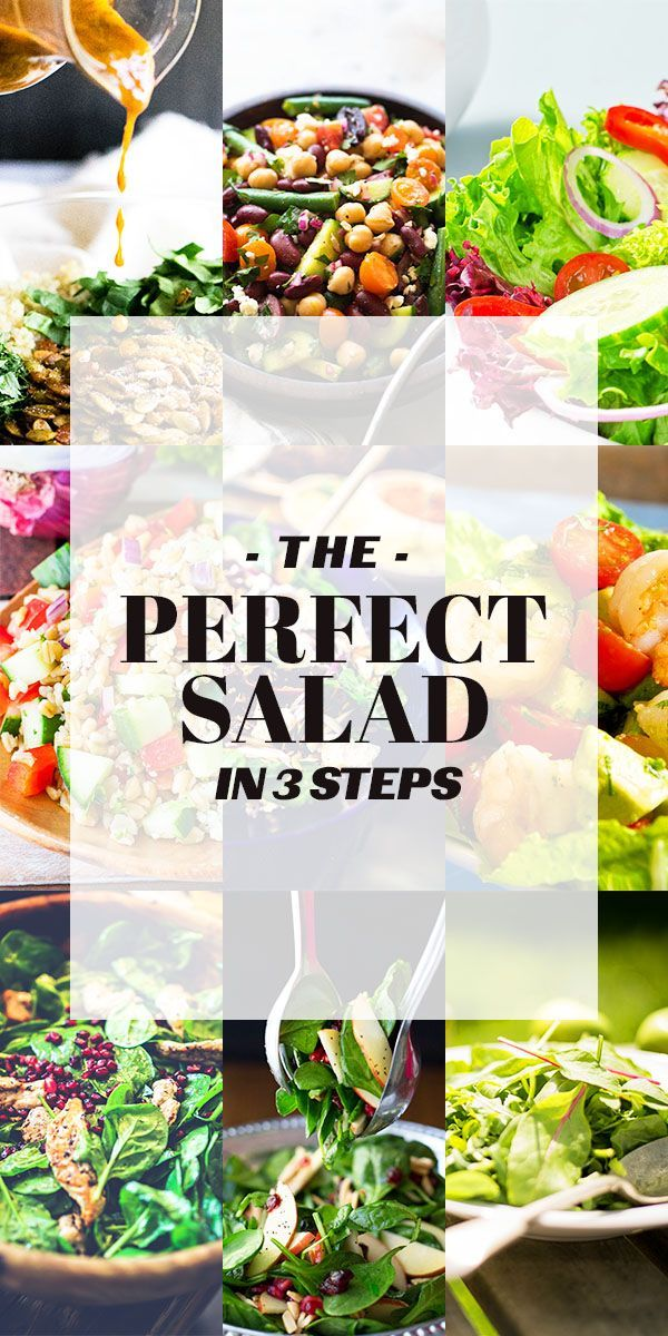 20 Quick, Healthy and Creative Salad Ideas for Lunch | Dressings ...