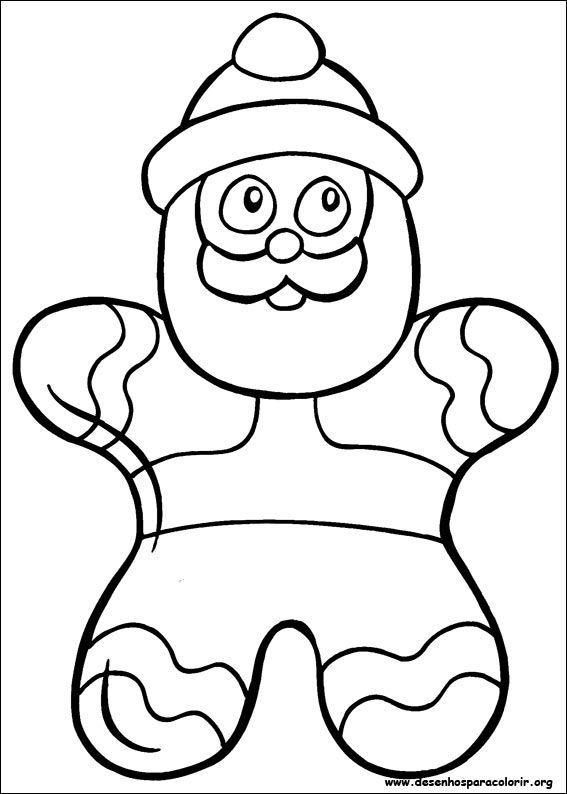 Pin de I T en Coloring - Santa   Pinterest