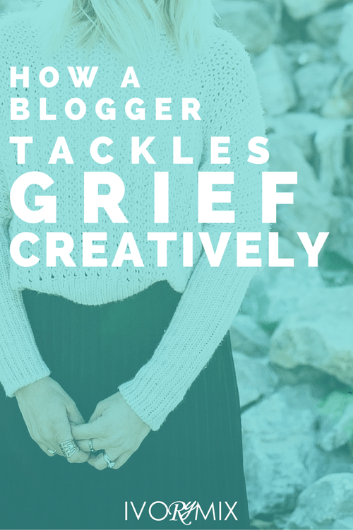 How a blogger tackles grief creatively
