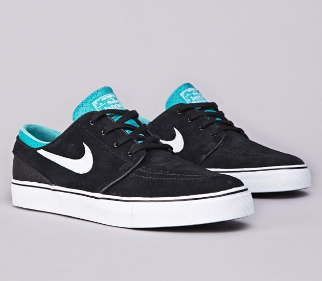 Nike SB Stefan Janoski Low-Black-White-Turbo Green  Black  Womens  Sneakers  -Only  22 for Gift 27be3c15c6088