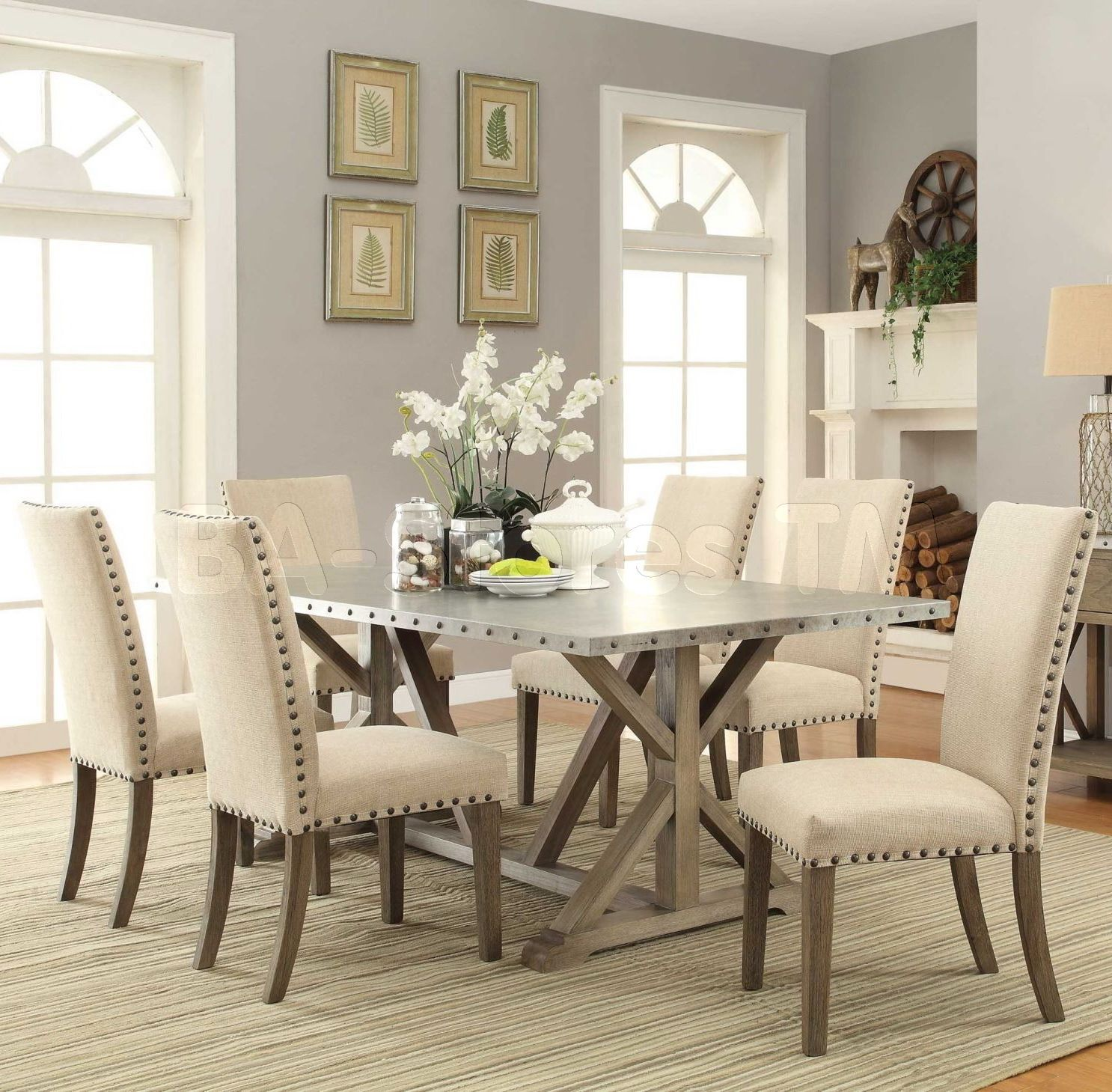 Cool Best Driftwood Dining Room Table On Home Design Ideas With - Driftwood dining table set